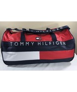 VTG Tommy Hilfiger Duffle Bag Large 90's Backpack Flag Spell Out Colorbl... - $149.99