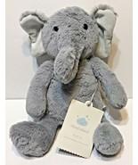"iCloud Island Grey Elephant Stuffed Plush  Gift 13"" New with Tags - $13.59"