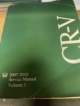 2007 2008 2009 2010 Honda Crv Servizio Negozio Riparazione Officina Manuale - $55.40