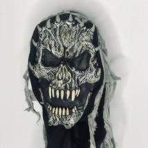 Halloween Horror Mask Cosplay Zombie Skull Dreadlocks Skeleton Full Face... - $19.64