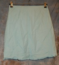 Girls Light Blue Old Navy Flat Front Lined Skirt Size 14 NWT NEW - $14.84