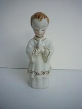 Vintage Shafford Figurine Altar Boy Communion Praying Made in Japan - $17.56