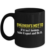 Engineer Coffee Mug - Ceramic Cup - Funny Engineering Motto Novelty Gifts - $14.95+