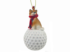 Chihuahua Longhaired golf Ornament - $17.99