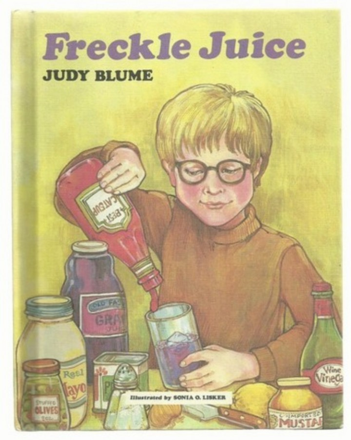 freckle juice by judy blume story Andrew wants freckles so badly that he buys sharon's freckle recipe for fifty cents full description main author freckle juice / by: blume, judy published.
