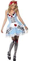 Smiffys Fever Miss Wonderland Costume image 2