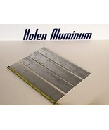 JumpingBolt 1/8'' X 2'' X 12'' Long Aluminum Flat Bar Stock 6061-T6 4 Pi... - $48.56