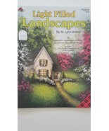 Light Filled Landscapes By M. Lynn Brand Plaid #9759 2003 Decorative  To... - $4.94
