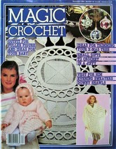 Magic Crochet Magazine Early Issue No 33 Dec 1984 with Some Christmas Decor - $3.23
