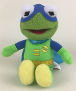 "Disney Junior Muppet Babies Kermit The Frog 8"" Super Hero Plush The Frog... - $12.82"