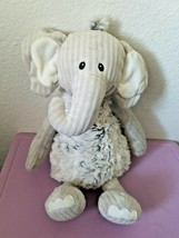 "Mary Meyer Ruffles and Ridges Elephant Plush Stuffed Animal Grey 13"" - $39.48"