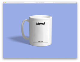 blond frank ocean Custom Mug - ₹831.48 INR
