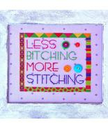 More Stitching cross stitch chart Amy Bruecken Designs - $7.20