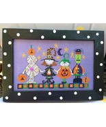 Halloween Parade cross stitch chart Amy Bruecken Designs - $7.20