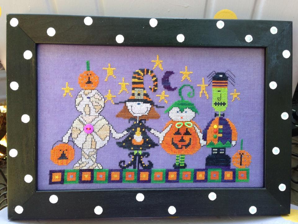 EMBELLISHMENT PACK for Halloween Parade cross stitch chart Amy Bruecken Designs