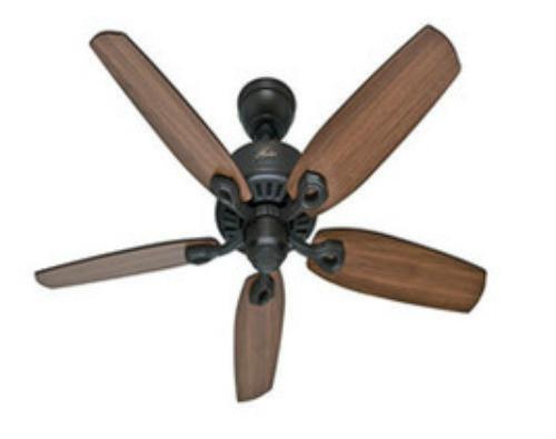 Quiet Ceiling Fan Large Room 52 Indoor 3 Speeds Cool No A C Energy Saver Wind Lamps Lighting