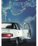 1989 Mercury SABLE sales brochure catalog US 89 GS LS - $6.00