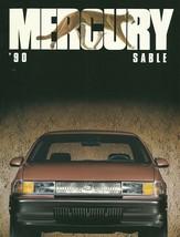 1990 Mercury SABLE sales brochure catalog US 90 GS LS - $6.00