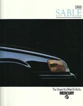 1988 Mercury SABLE sales brochure catalog US 88 GS LS - $6.00
