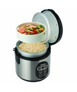 Digital Food Steamer Pressure Crock Slow Basmati Aroma Pot Kitchen Rice ... - ₨6,570.68 INR