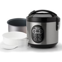 Digital Food Steamer Pressure Crock Slow Basmati Aroma Pot Kitchen Rice Cooker