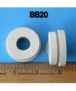 Rubber Grommets For 28.6 mm Hole Package Of 5 White BB20 - $9.95