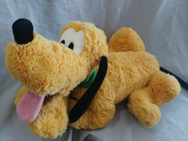 "Disney Store Exclusive  Pluto 15"" Plush Soft Stuffed Animal - $16.82"