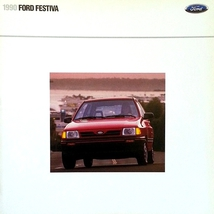 1990 Ford FESTIVA sales brochure catalog 90 US L Plus LX - $8.00