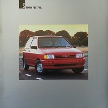 1991 Ford FESTIVA sales brochure catalog 91 US L GL - $9.00