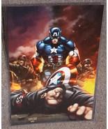 Marvel Captain America Glossy Print 11 x 17 In ... - $24.99