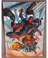 Marvel Spider-Man vs Green Goblin Glossy Print ... - $24.99