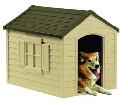 Weatherproof Dog House Puppies Outdoor Bed Dry Den Indoor Travel Shelter - $89.99