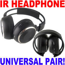 2 Wireless Acura DVD Headphones - Folding Headsets - $38.95