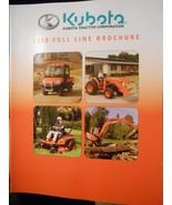 2008 Kubota Equipment Full Line Catalog - $8.00