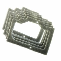 5x HQRP Foam Gasket Air Filters for Homelite 95921, UP06574, UT-10648, UT-10649 - $10.44