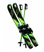 Kids Ski Set Snow Boots Mountain Lift Beginner Downhill Slopes Poles Vac... - €73,94 EUR