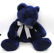 "Ty YANKEES Centennial New York Yankees 100th Anniversary Blue Bear 14"" P... - $18.04"