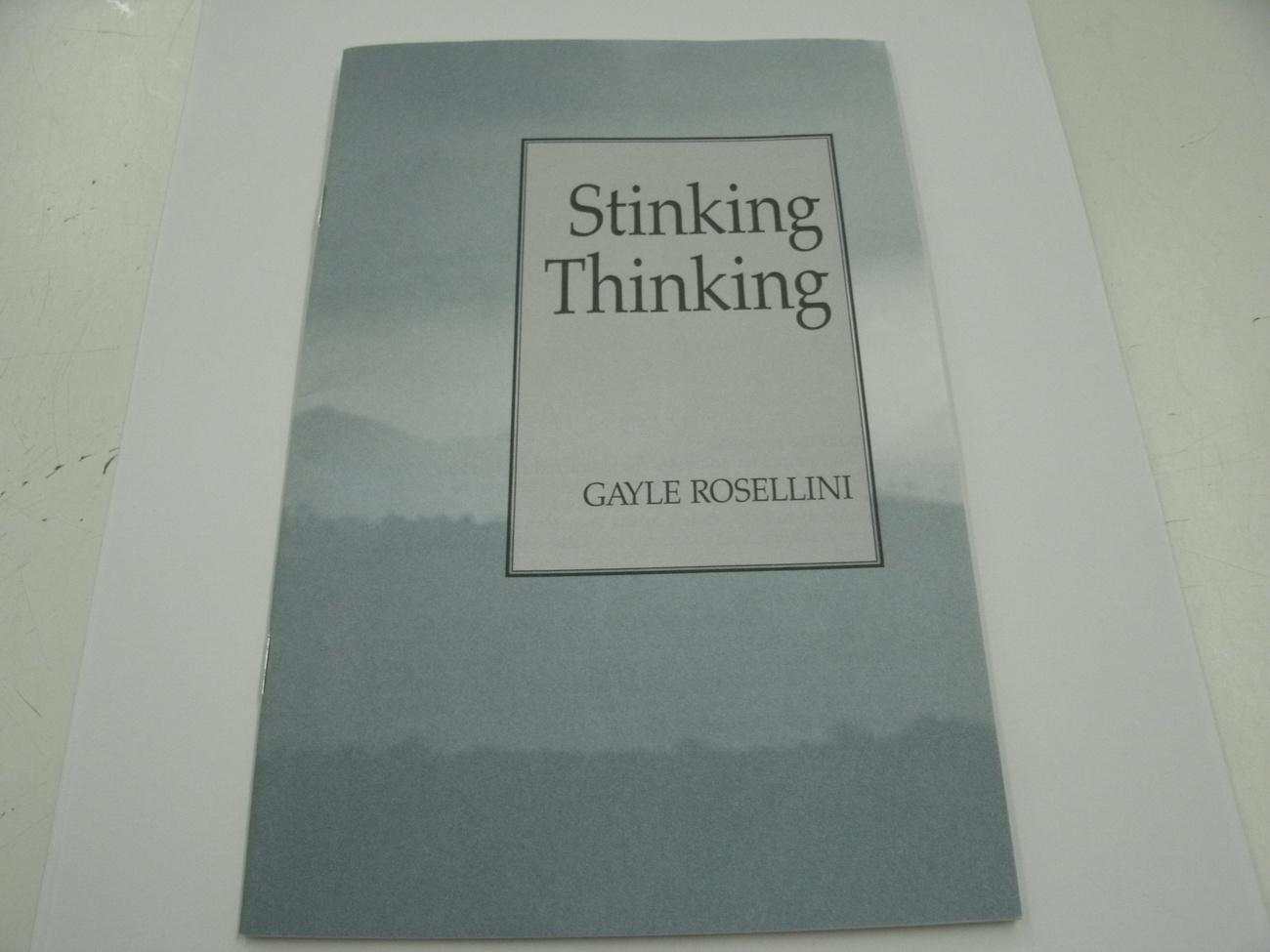 Stinking Thinking by Gayle Rosellini (1985, Paperback, Pamphlet)
