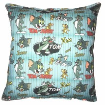 Tom & Jerry Pillow Warner Brothers Tom and Jerry Pillow Handmade In USA WB - $9.99