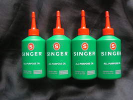 4x100ml Genuine Singer All Purpose Oil for Sewing Machines,Computers,Bic... - $29.99