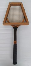 SPALDING Wooden Tennis Racquet Press Holder 56-293 With Wilson Advantage... - $44.62