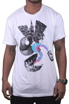 Wesc Mens We Are Superlative Conspiracy White Swedish Dittan Och Dattan T-Shirt