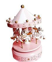 PANDA SUPERSTORE Birthday Gift Fashion Cute Carousel Clockwork Musical Box