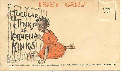 Kornelia Kinks Jocular Jinks 1907 Post Card