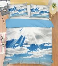 3D Sunshine White Cloud KEP9278 Bed Pillowcases Quilt Duvet Cover Kay - $66.96+