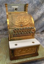 1925 NCR National Cash Register Model 313 Candy Store Brass Art Deco Vin... - $899.00