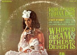 Whipped Cream & Other Delights by Herb Alperts Tijuana Brass, Original L... - $6.95