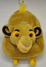 SIMBA Lion KING Disney PLUSH Head FACE Backpack 3D Cub FURRY - $44.50