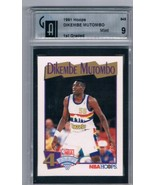 1991-92 Hoops #549 Dikembe Mutombo Compare to PSA / GAI 9 RC Rookie Nuggets - $29.05