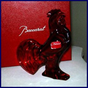 Baccarat zodiac rooster a